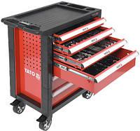 Тележка инструментальная с инструментом 177 предметов YATO YT-55300 (Польша)