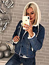 Куртка-парка джинсовая с капюшоном, фото 8