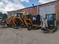 Услуги/аренда мини-экскаваторов JCB, мини-екскаватора Bobcat Полтава.