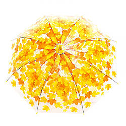 Зонт Осень прозрачная клеенка CEL-258