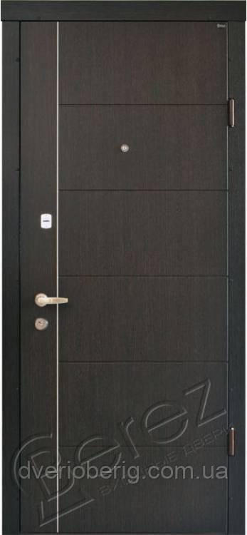 Входная дверь Berez Стандарт Аризона венге темный
