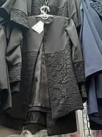 Детский кардиган пиджак для девочек удлиненный 122-146