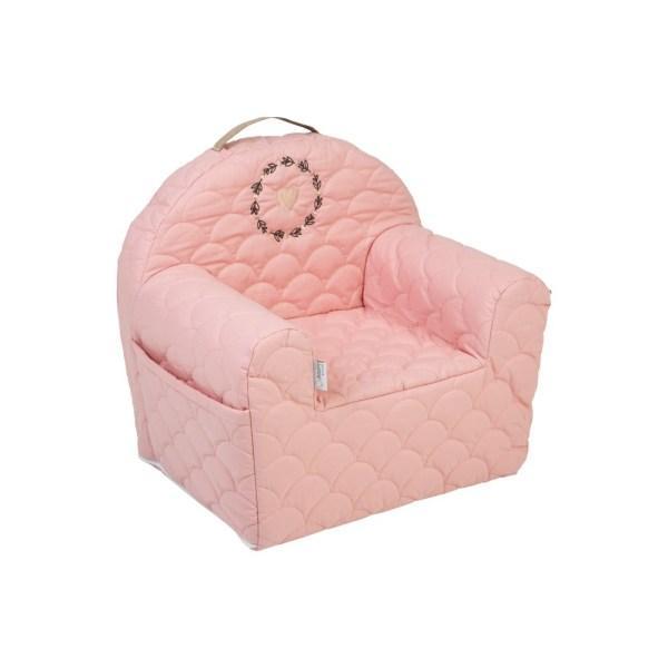 Детское мягкое кресло,Nature & Love Rose N001,Klups454535KROZ