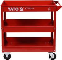 Передвижная трехуровневая тележка для инструмента YATO YT-55210 (Польша)
