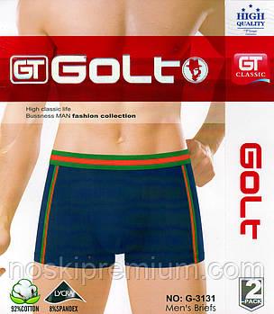 Трусы мужские боксеры Golt хлопок с бамбуком, размеры L-3XL, 3131