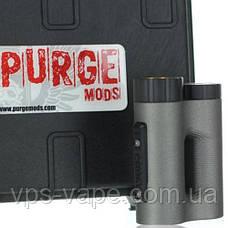 The Side Piece 21700 Mech MOD by Purge Mods (Red/Black Splatter), фото 3