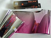 Пленка на лобовое стекло с переходом SOLUX Rose/Silver 300 см