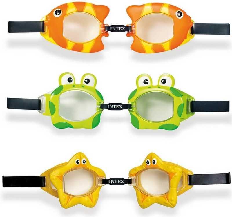 Intex Очки для плавания 55603 (12) 3 цвета, 3-10 лет