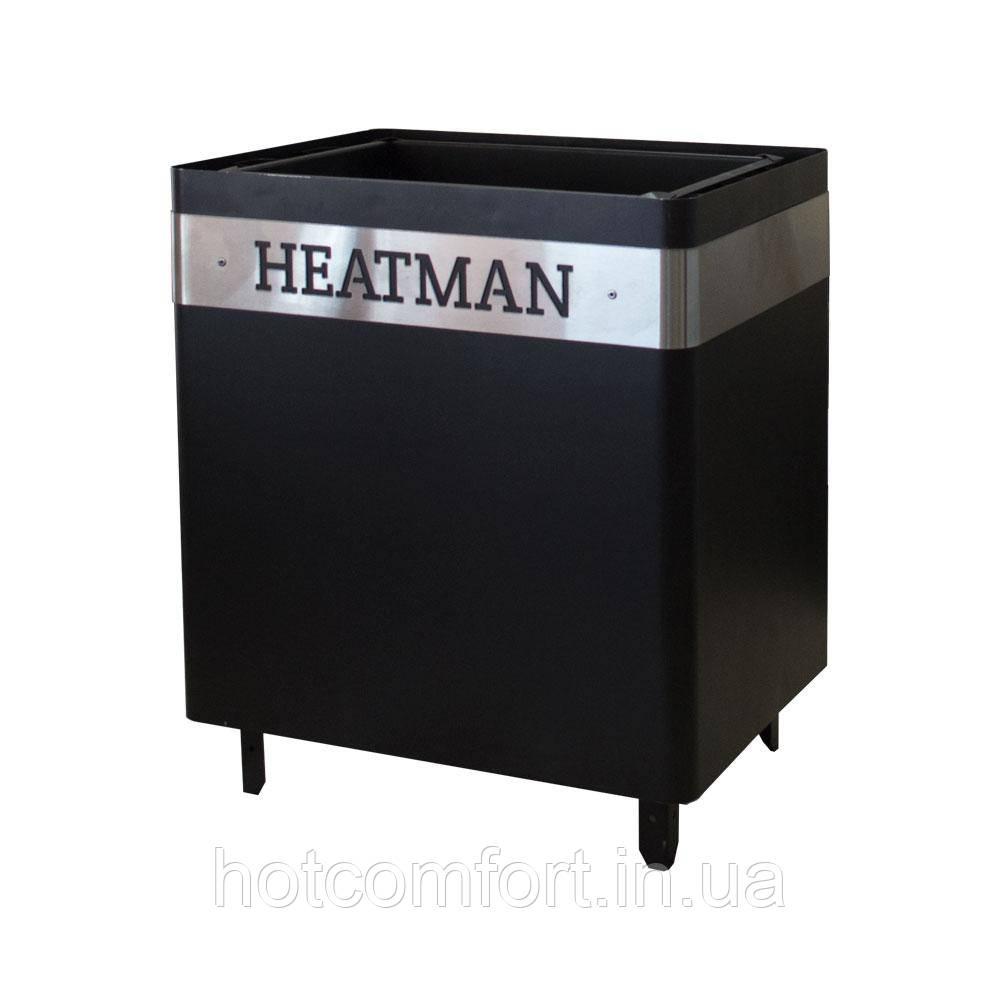 Електрокам'янка Heatman Cube 15 кВт (Дніпро ЕКС) з механічним блоком управління