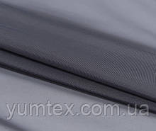 Тюль вуаль (шифон), цвет серый