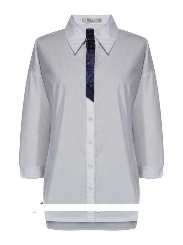 Детская школьная блуза для девочки с рукавом 3/4 от Deloras 62029 | 134-164р.
