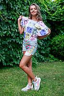 Детская футболка для девочки JBE Италия 132BIFN006 Мультиколор