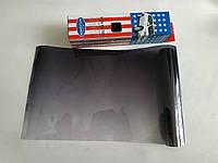 Пленка на лобовое стекло с переходом Autodnepr Black 20 x150 см, фото 1