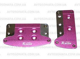 Накладки на педали автомат 352 Pink/SL