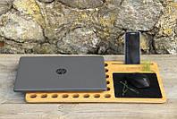 Подставка под ноутбук деревянная, эксклюзив, сделано вручную в Украине EcoWalnut.«AirDesk»