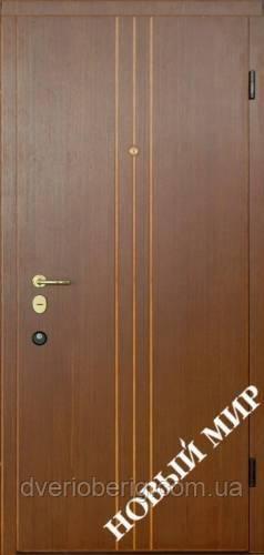 Входная дверь Новый Мир Новосёл Новосел М.5 Вертикаль В 3