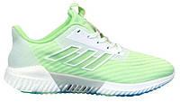 """Женские Кроссовки Adidas Climacool 2.0 """"Green White"""" - """"Зеленые Белые"""" (Реплика ААА+)"""