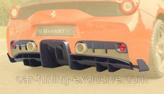 MANSORY rear diffuser for Ferrari 458
