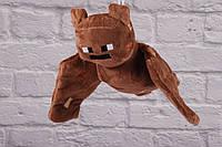 """Мягкая игрушка """"Mojang"""" Летучая Мышь 20 см, Майнкрафт, Minecraft, плюшевая игрушка Летучая Мышь"""