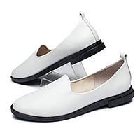 Женские модные кожаные туфли, мягкие, удобные