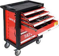 Тележка инструментальная с инструментом 185 предметов YATO YT-55307 (Польша)