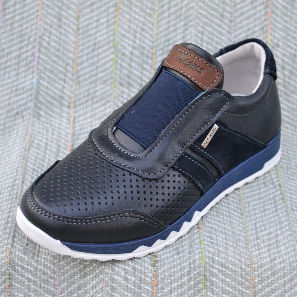 Туфли слипоны на мальчика, Maxus размер 36 37 38