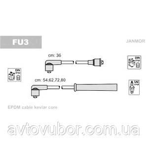 Комплект высоковольтных проводов 1.1-1.3-1.4-1.4i-1.6 Ford Escort 1980-1985