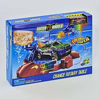 Автотрек Мини Покраска авто S 8864 - S 8865 - S 8866 (36) машинка меняет цвет, в коробке