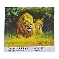 Алмазная мозаика GB 70141 (30) 40х30 см., 20 цветов, в коробке