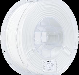 Пластик в котушці PETG PolyLite 1,75 мм, Polymaker, 1кг білий, фото 2