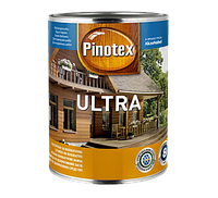 Pinotex ULTRA 3 л деревозащитное средство глянцевое Черный