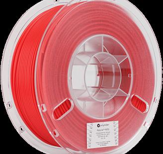 Пластик в котушці PETG PolyLite 1,75 мм, Polymaker, 1кг червоний, фото 2