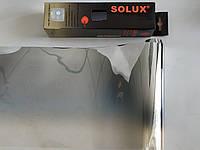 Пленка на лобовое стекло с переходом SOLUX Silver/Silver 20 х150см