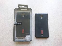 Чехол-накладка Capdase для Sony Xperia T LT30i + плёнка