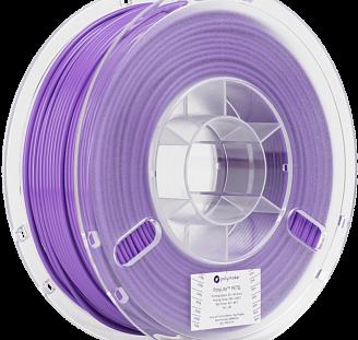 Пластик в котушці PETG PolyLite 1,75 мм, Polymaker, 1кг фіолетовий, фото 2