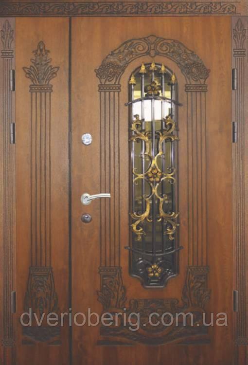 Входная дверь Термопласт Полуторные 15