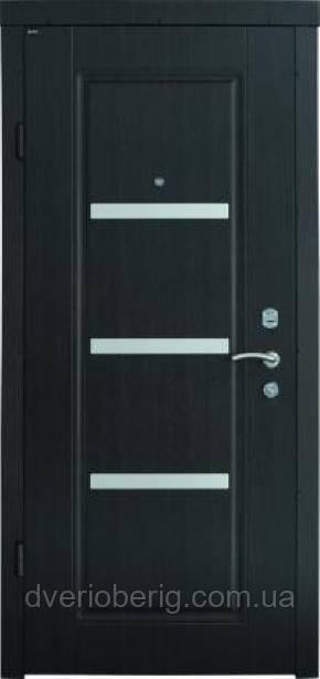 Входная дверь Berez Стандарт Вена венге темный