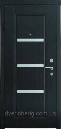 Входная дверь Berez Стандарт Вена венге темный, фото 2