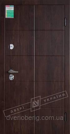 Входная дверь Двери Украины Кейс БС орех Vinorit Kale, фото 2