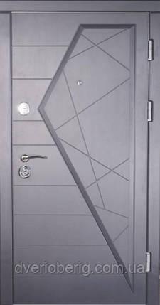Входная дверь Very Dveri МДФ Айсберг Графит, фото 2