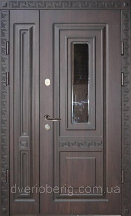 Вхідні двері Термопласт Полуторні 18