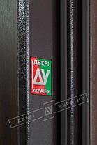 Входная дверь Двери Украины Кейс Сити орех Vinorit Riccardi, фото 2