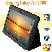Классный! Планшет Galaxy Tab KT107 10.1 2SIM 2/16GB ROM 3G + Чехол-книжка, фото 1