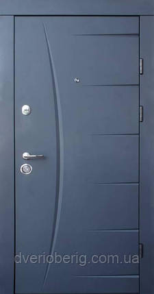 Входная дверь Qdoors Премиум Глория графит, фото 2