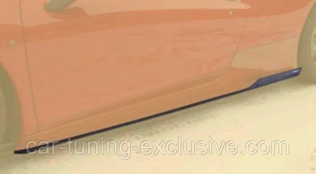 MANSORY side skirts add-on for Ferrari 458