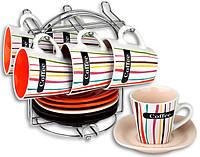 Кофейный набор 12 предметов