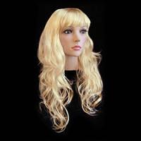 Парик Волнистый блонд