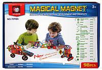 """Магнитный конструктор 7098A """"Транспорт"""", 98 детали, фото 1"""