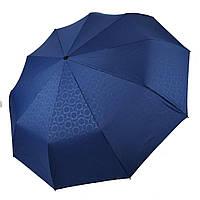 Автоматический зонт Три слона на 10 спиц, черный цвет, 333-2