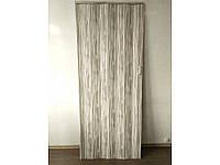 Дверь гармошка межкомнатная глухая, бамбук 910, 810*2030*6мм